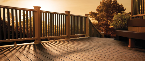 PVC Decking Material - Serving Roanoke, Lynchburg, Moneta