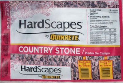 quikrete country red