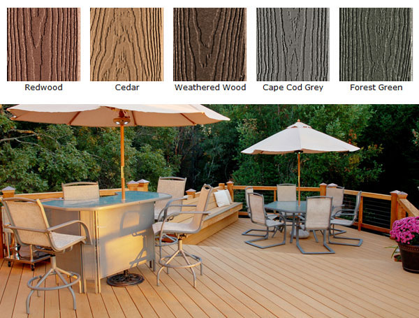 Tamko Evergrain Decking Capps Home Building Center