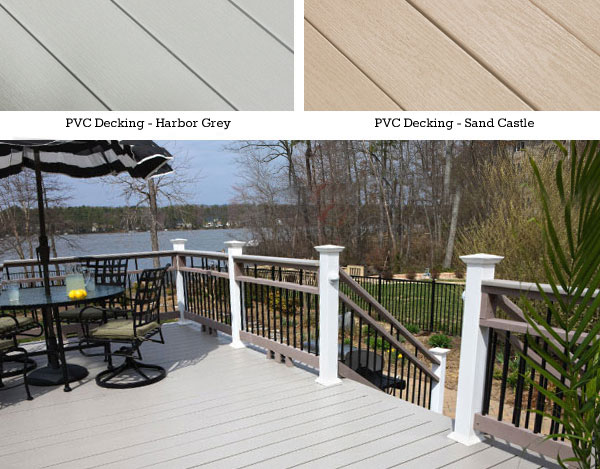 Wolf PVC Decking products at Capps