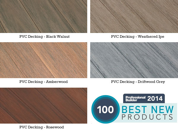 Your wolf pvc decking supplier for roanoke valley beyond for Vinyl decking material