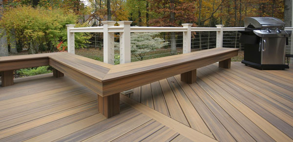 Horizon Railing in Provencial Profile