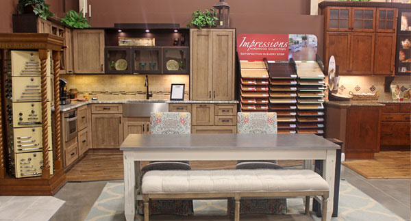 Visit our design showroom capps home building center for Kitchen design showroom