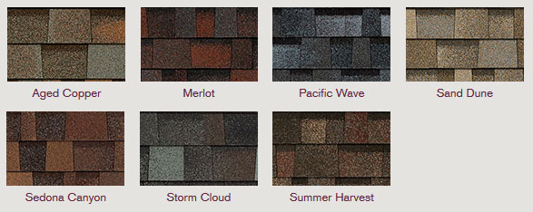 Owens Corning TruDefinition® Duration® Designer Colors Collection