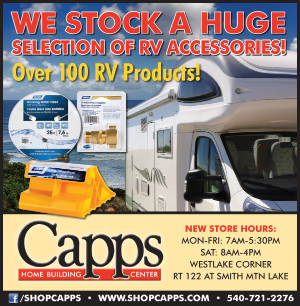 RV Accessories Available at Capps