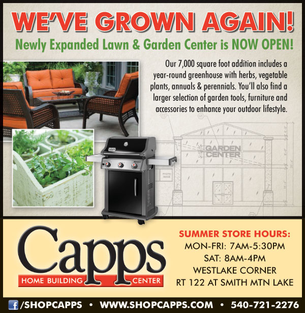 Lawn and Garden Center is now open