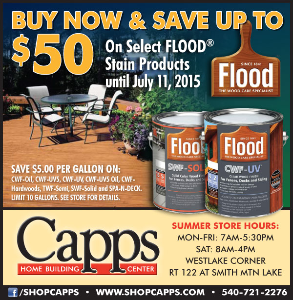 Flood Rebate Offer