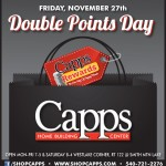 Capps Double Points day