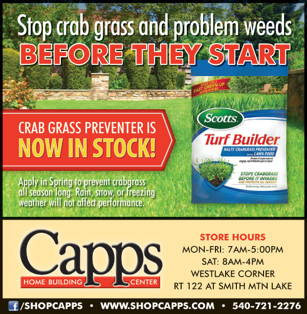 Scotts Crabgrass Preventer advertisement