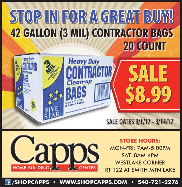 contractor bags on sale