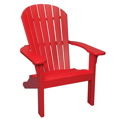 Backyard Etc. Adirondack Chair