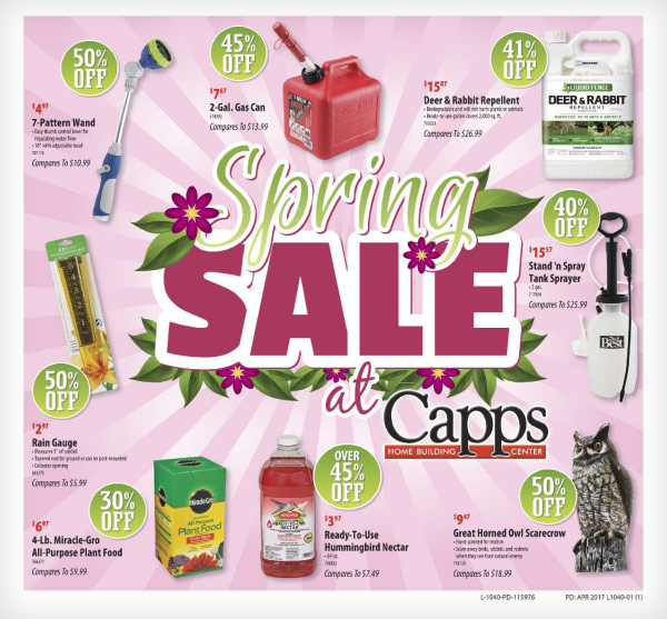Spring Sale cover