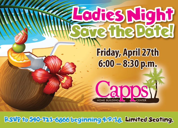 Ladies Night - Save the Date