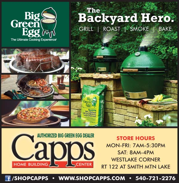 Big Green Egg Grill ad