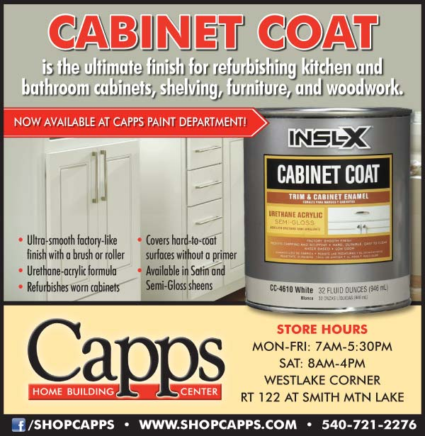 Cabinet Coat Trim Cabinet Enamel Now Available Capps