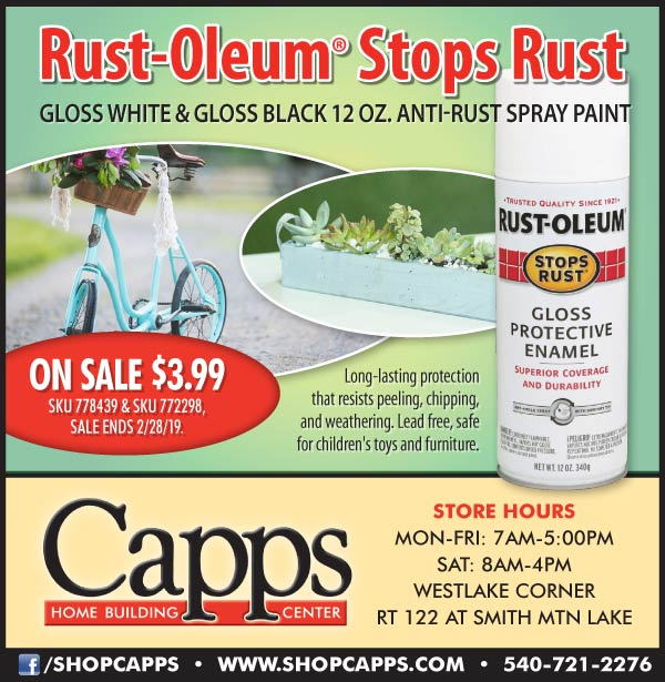 Rust-Oleum® Stops Rust Spray Paint On Sale - Capps Home