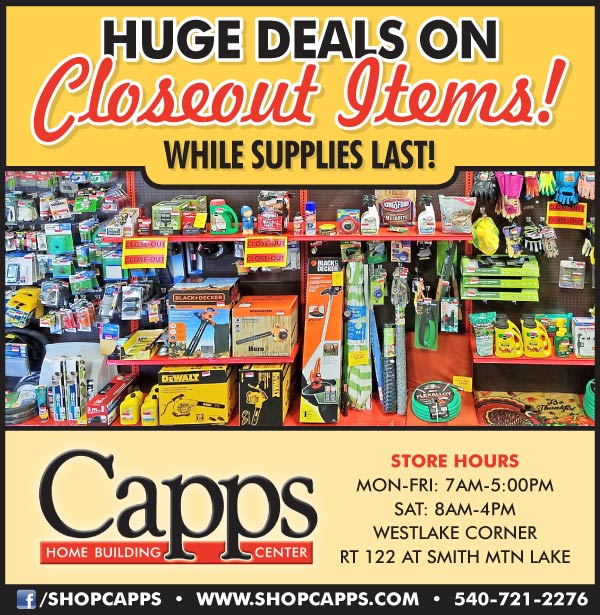 Closeout items ad