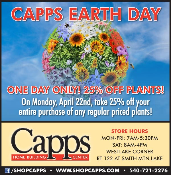 Earth Day One Day Sale ad