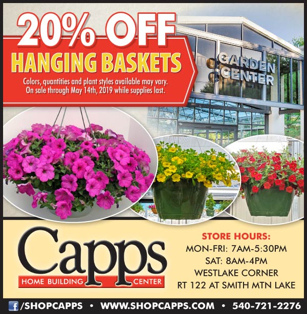 hanging baskets ad