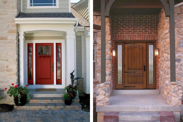 Therma tru doors capps home building center for Reeb fiberglass exterior doors