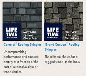 Ultra-Premium Designer Roofing Shingles