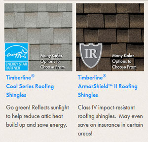Timberline® Specialty Shingles
