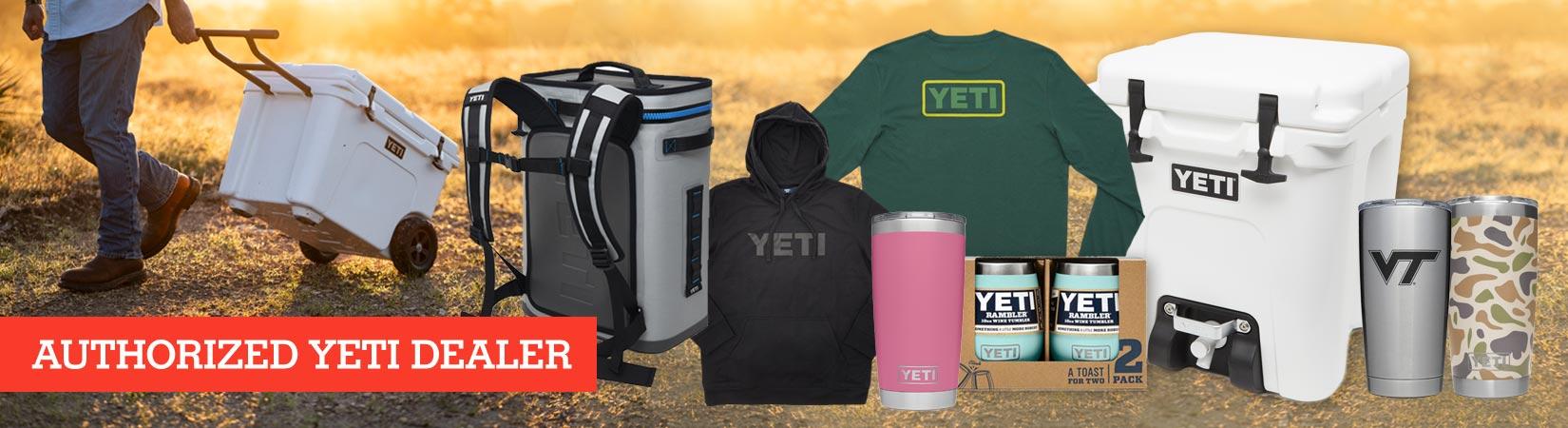 Authorized Yeti dealer page