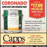 Coronado Interior Paint Sale ad