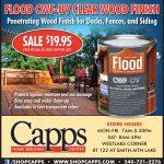 Flood CWF Wood Stain Sale advert