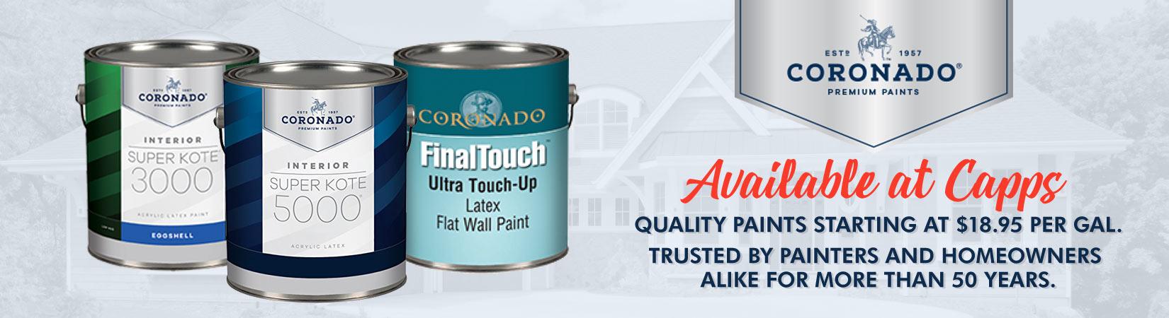 Coronado Paints ad